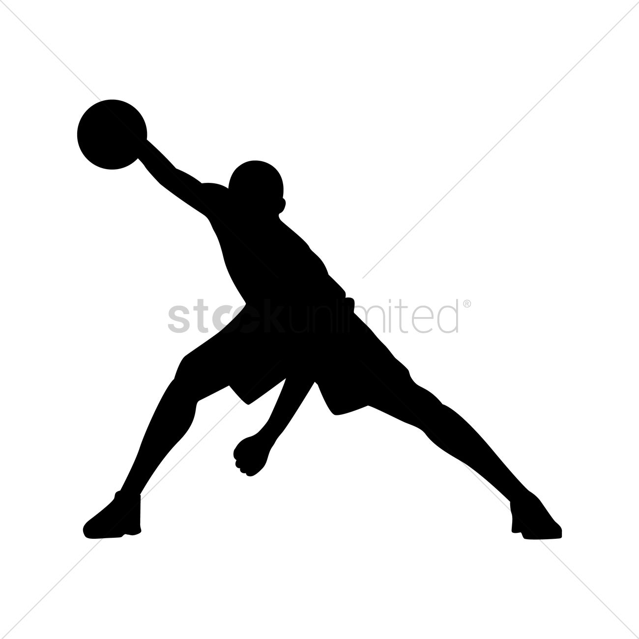 basketball player dribbling clipart