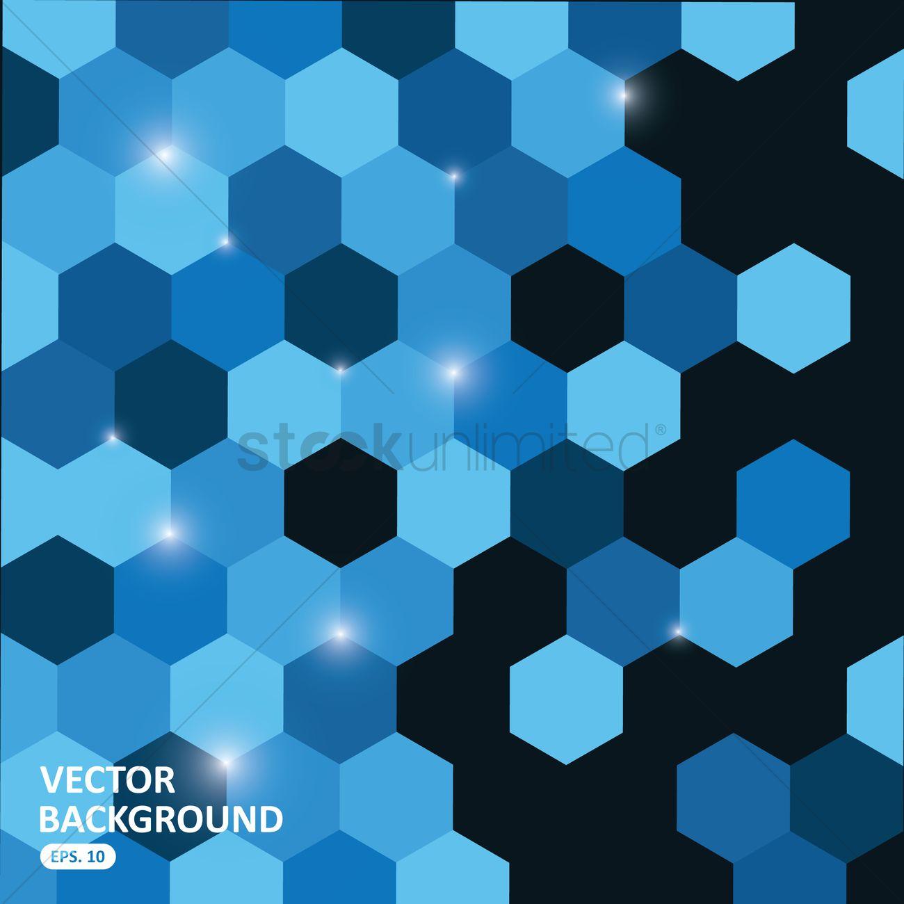 blue hexagonal pattern vector - photo #33