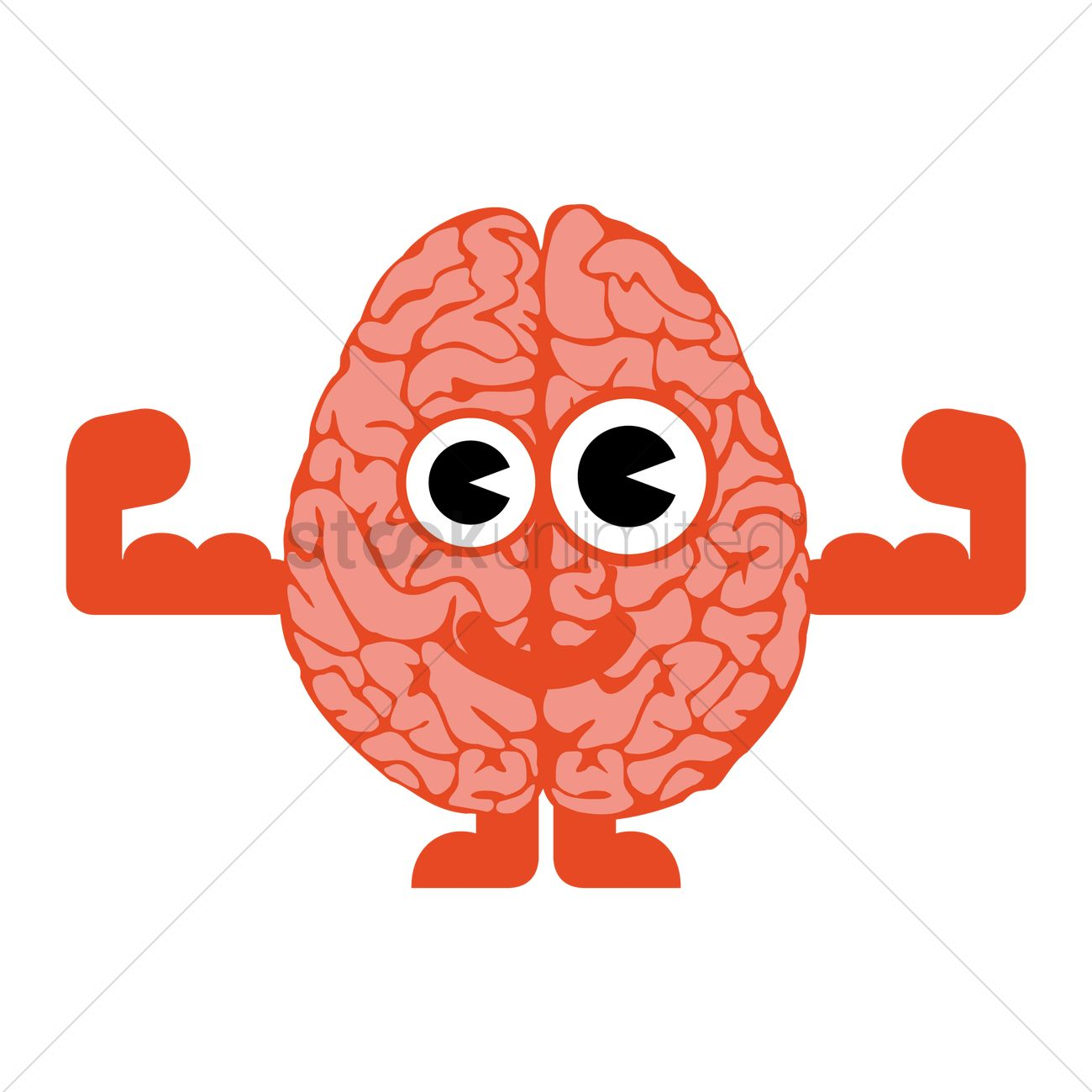 brain cartoon vector image 1261117 stockunlimited