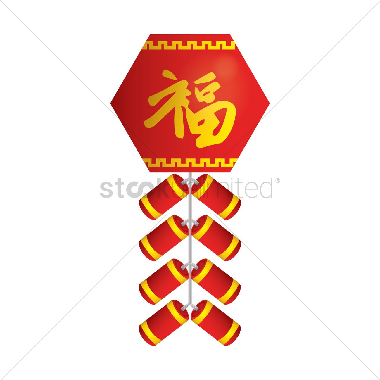 Chinese firecrackers Vector Image - 1403459 | StockUnlimited
