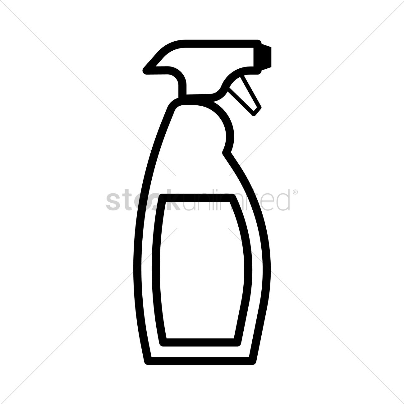 Cleaning bottles clip art - photo#48