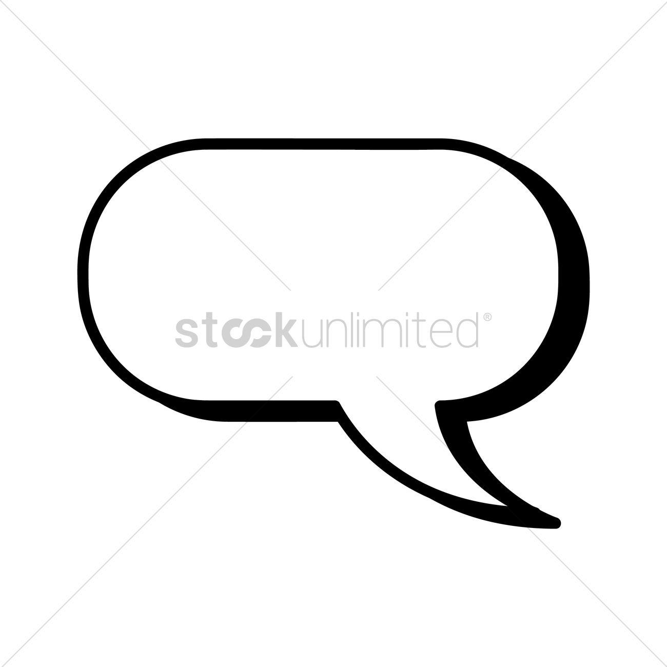 Comic speech bubble Vector Image - 1631458   StockUnlimited