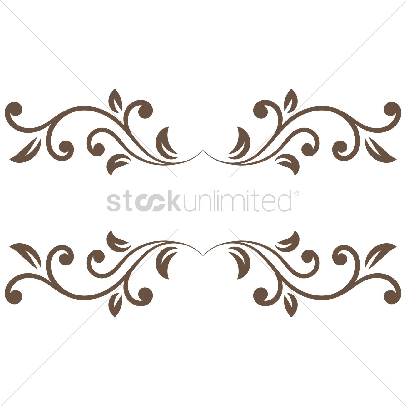 decorative frame border vector graphic