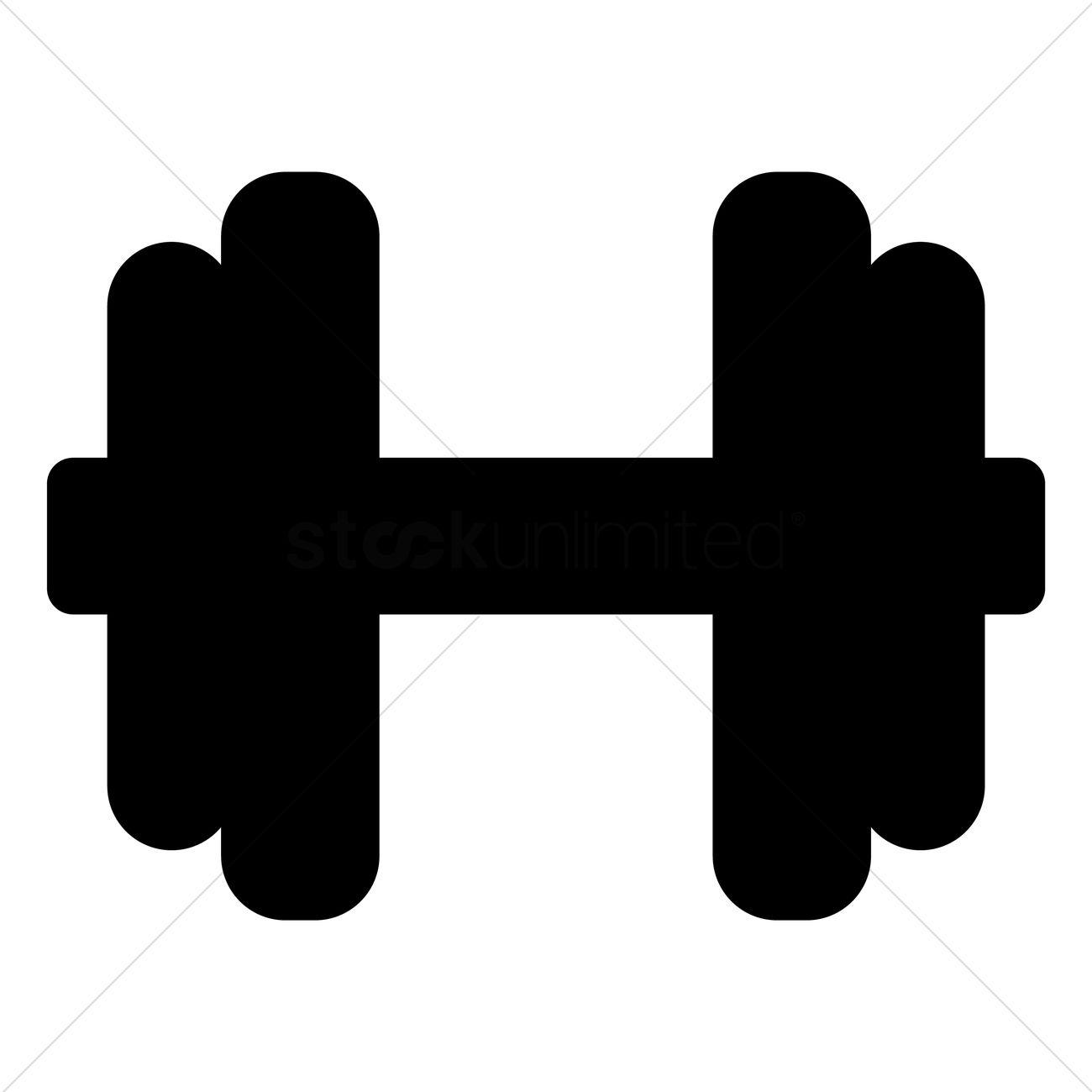 symbol clip art at clker com vector clip dumbbells clipart