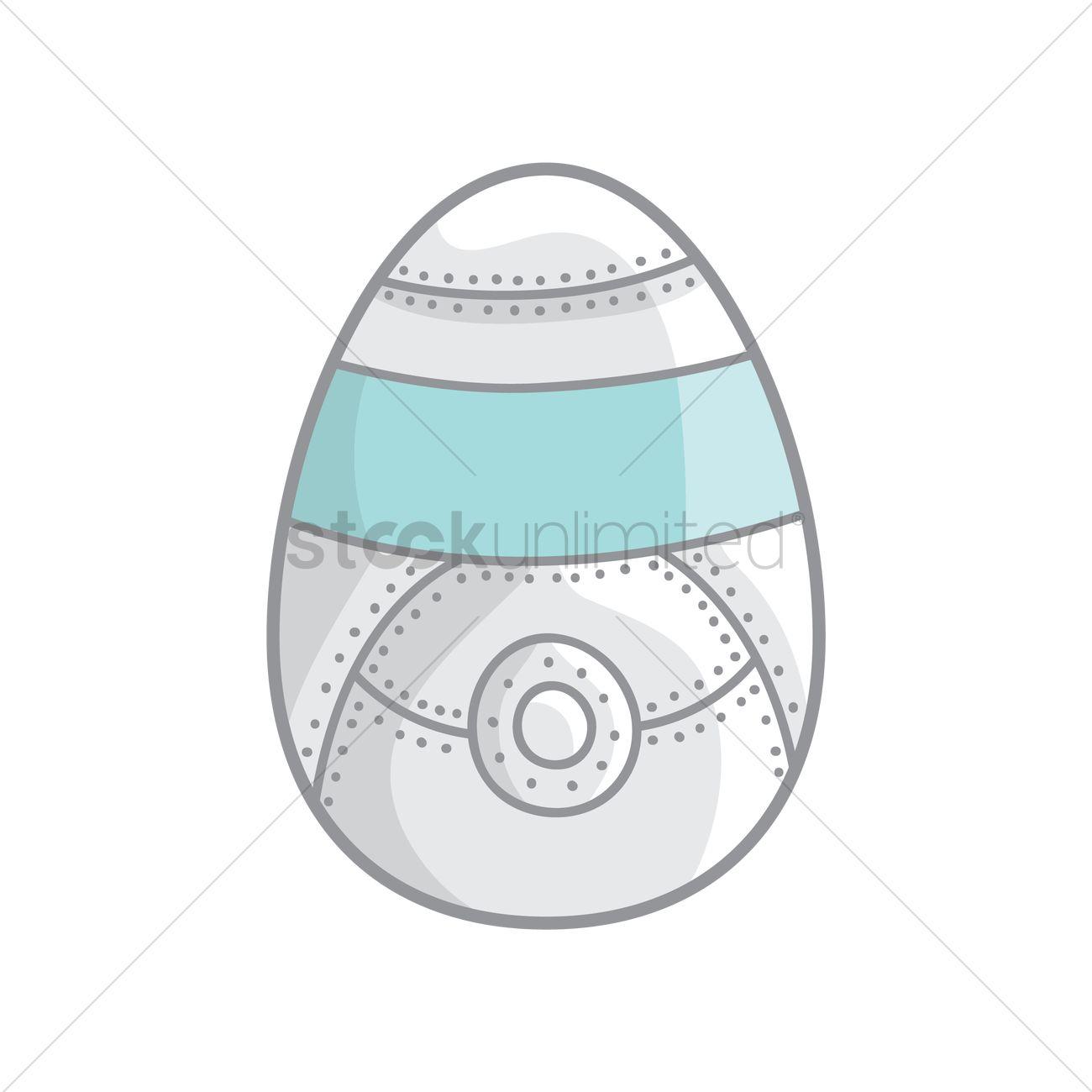 Easter egg robot design Vector Image - 1425013 | StockUnlimited