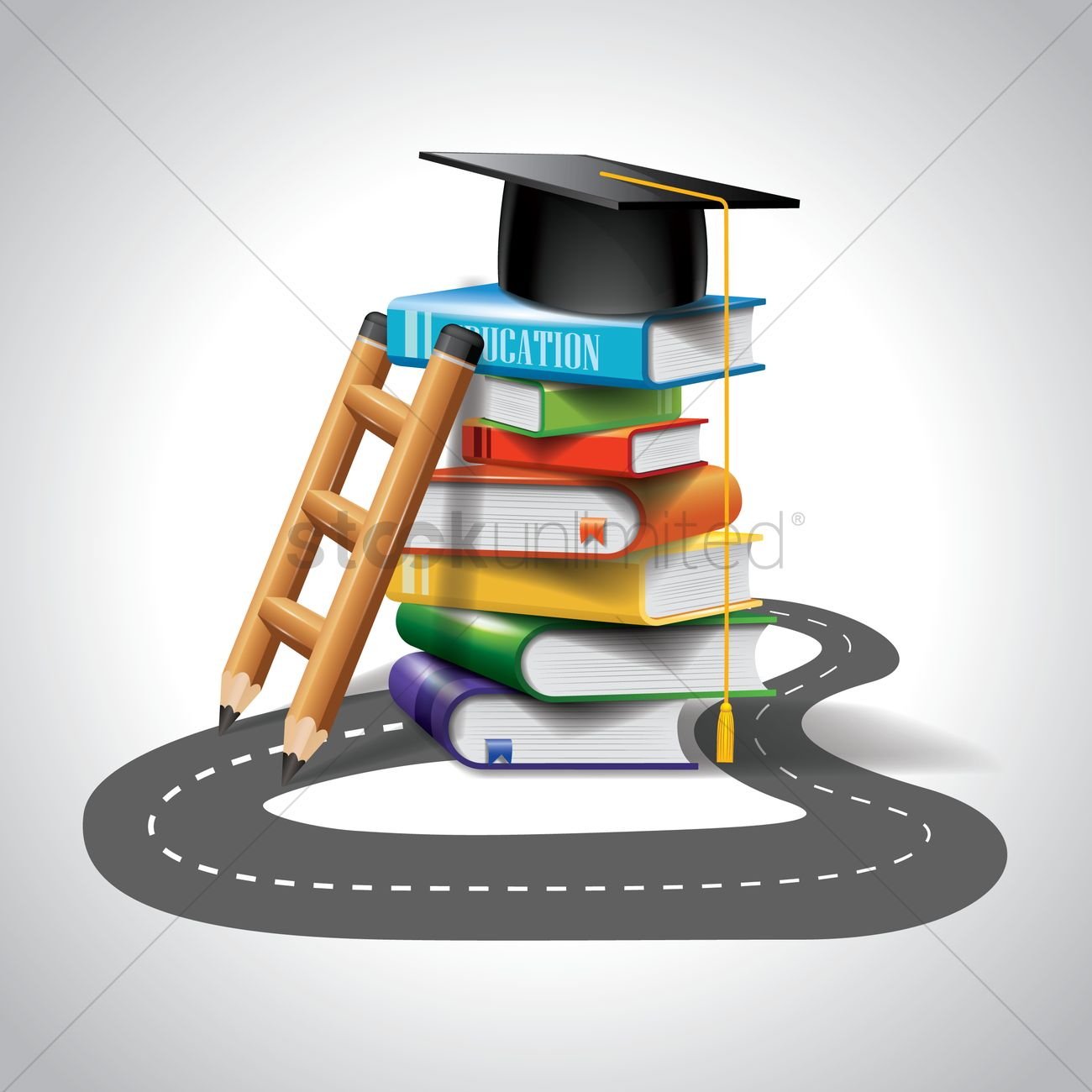 education wallpaper vector image 1796152 stockunlimited