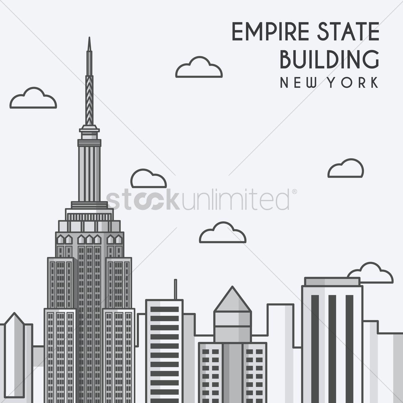Empire state building - new york, new york