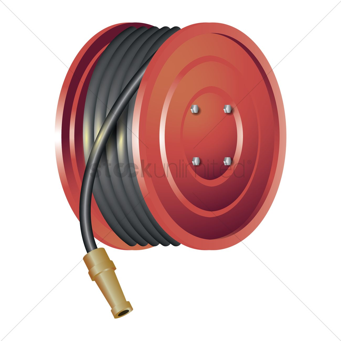 clipart fire hose reel - photo #3