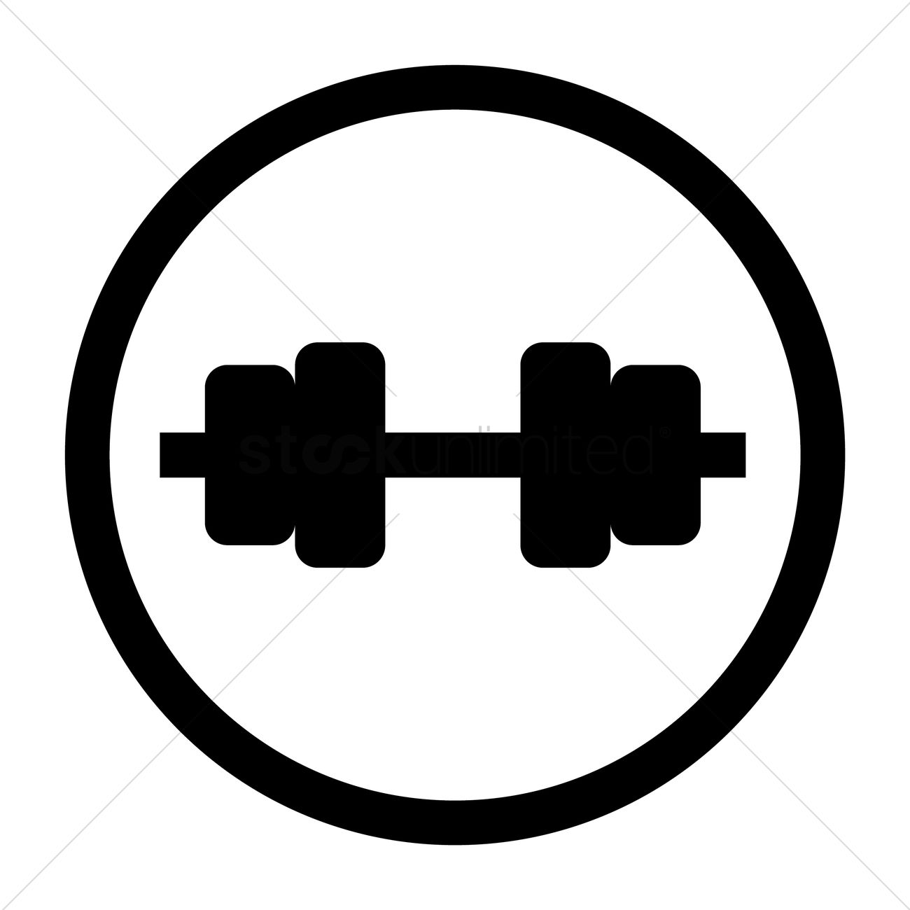 Fitness icon Vector Image - 1648801 | StockUnlimited