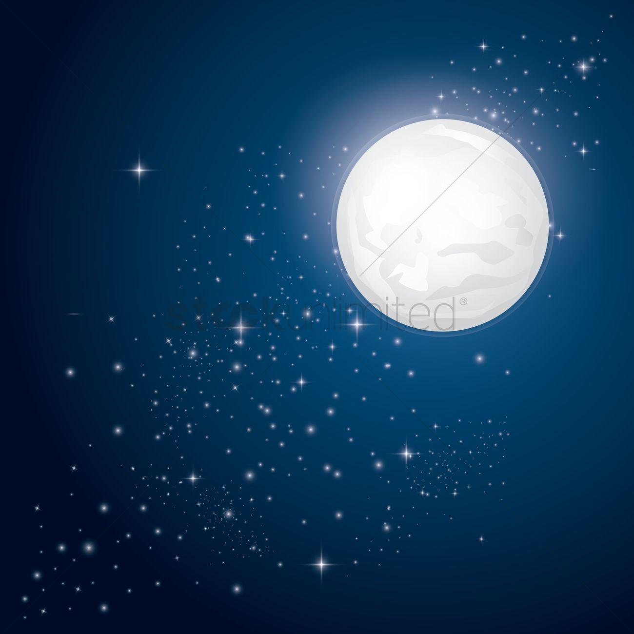 Image Gallery nighttime stars background