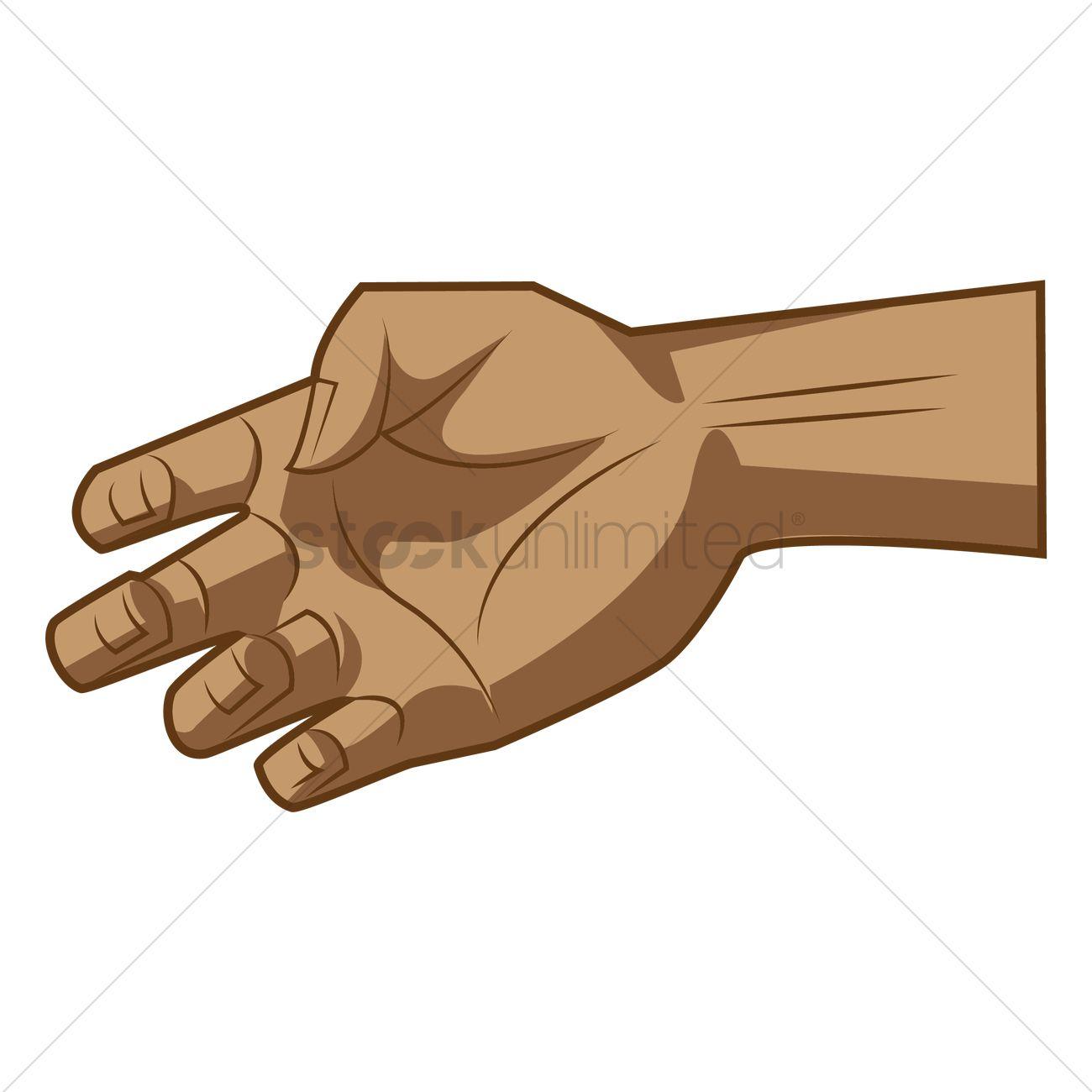 Grab hand Vector Image - 1459056 | StockUnlimited