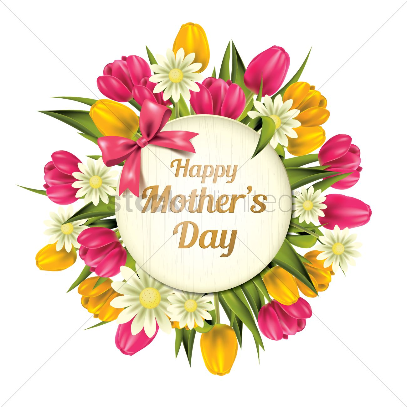 happy mothers day vector image 1807710 stockunlimited mother's day clip art mother day clip art free
