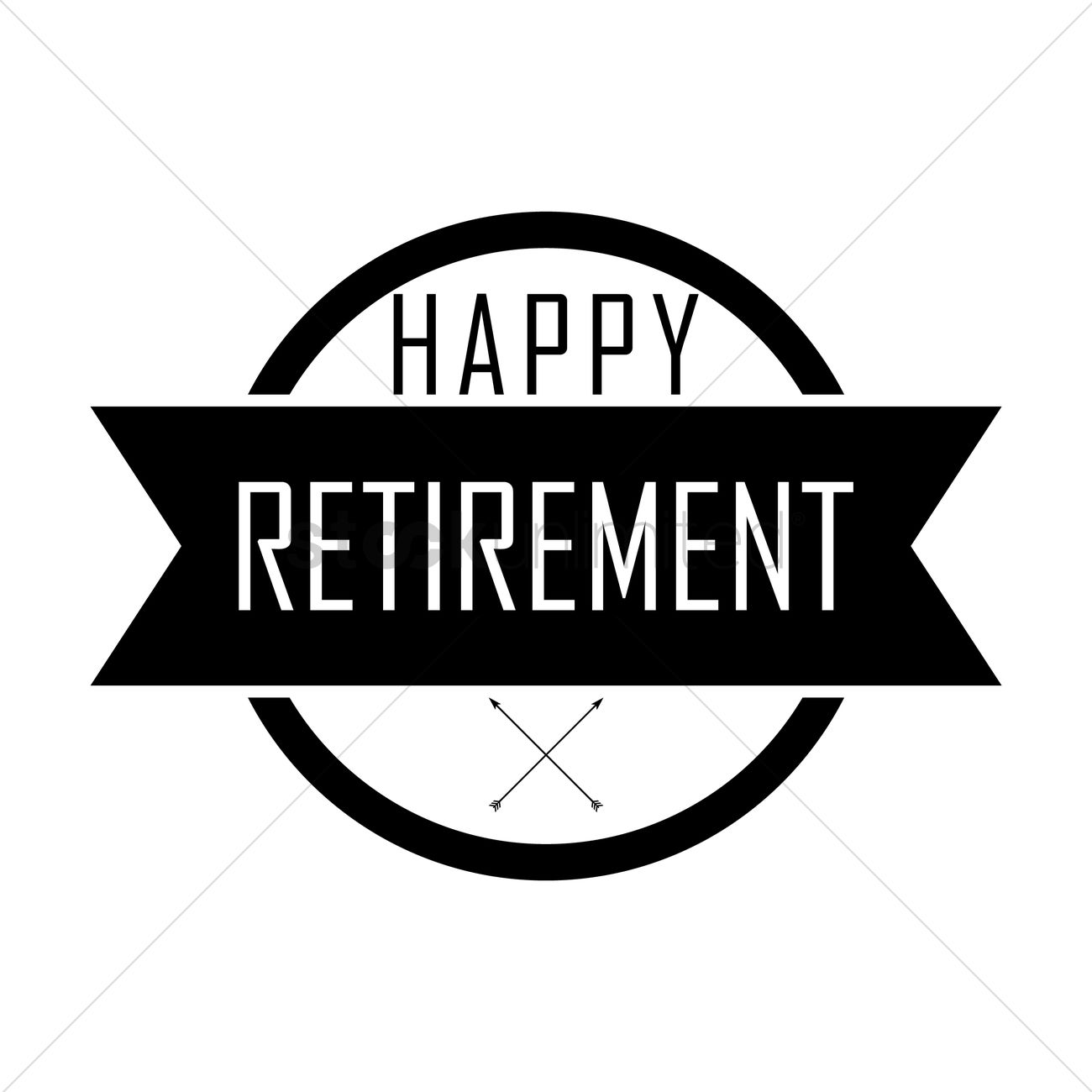 happy retirement wish vector image 1828123 stockunlimited retirement clip art free black & white retirement clip art free black & white