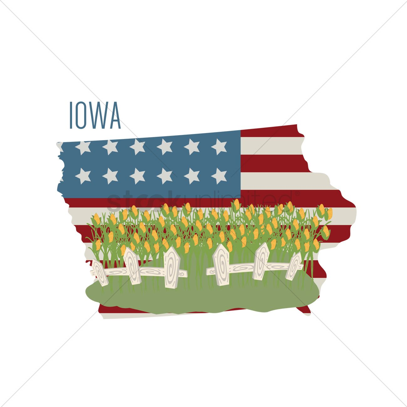 Usa America State States Map Maps Geography Cartography Topography Map Of Iowa Usa