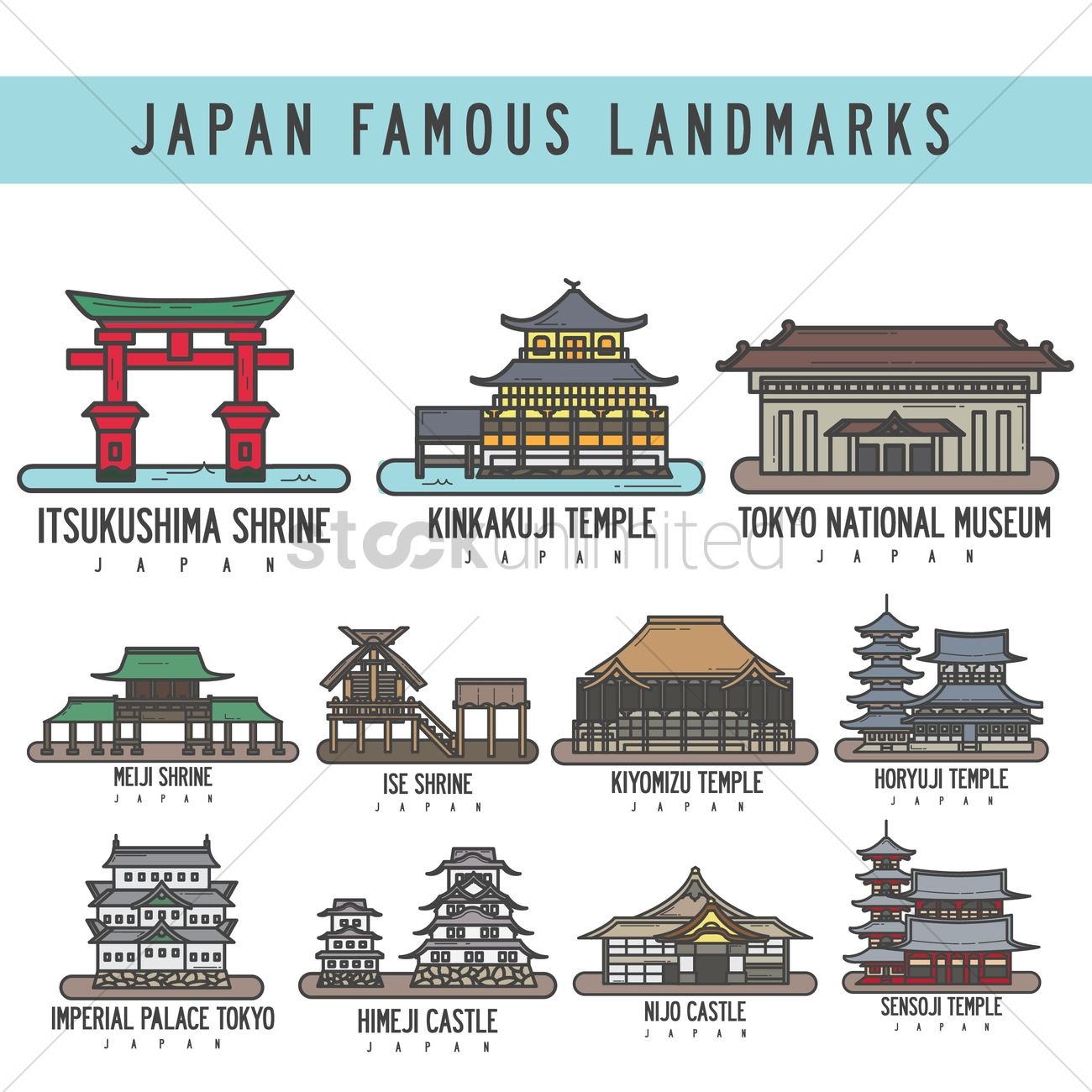 Famous Places In Japan