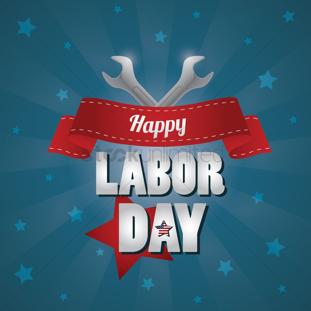 Labor day poster Vector Image - 1530470 | StockUnlimited