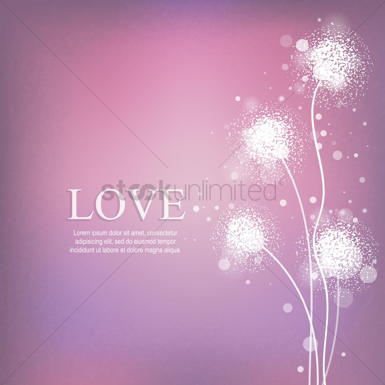 Love Wallpapers Vector : Love wallpaper Vector Image - 1499671 StockUnlimited