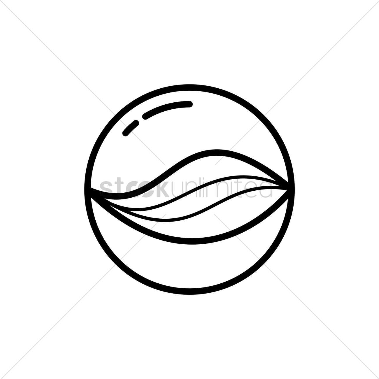 marble ball vector image 1527229 stockunlimited crossed softball bats clipart Softball Bat Outline