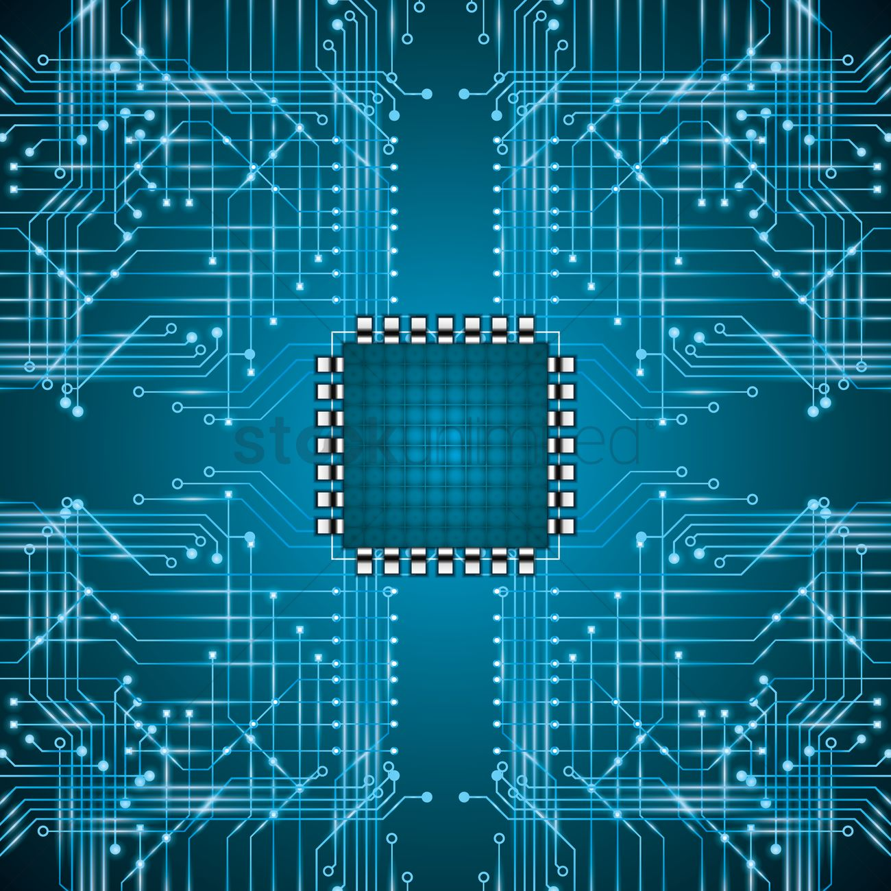 microchip on circuit board wallpaper vector image circuit board design clipart circuit board clipart png