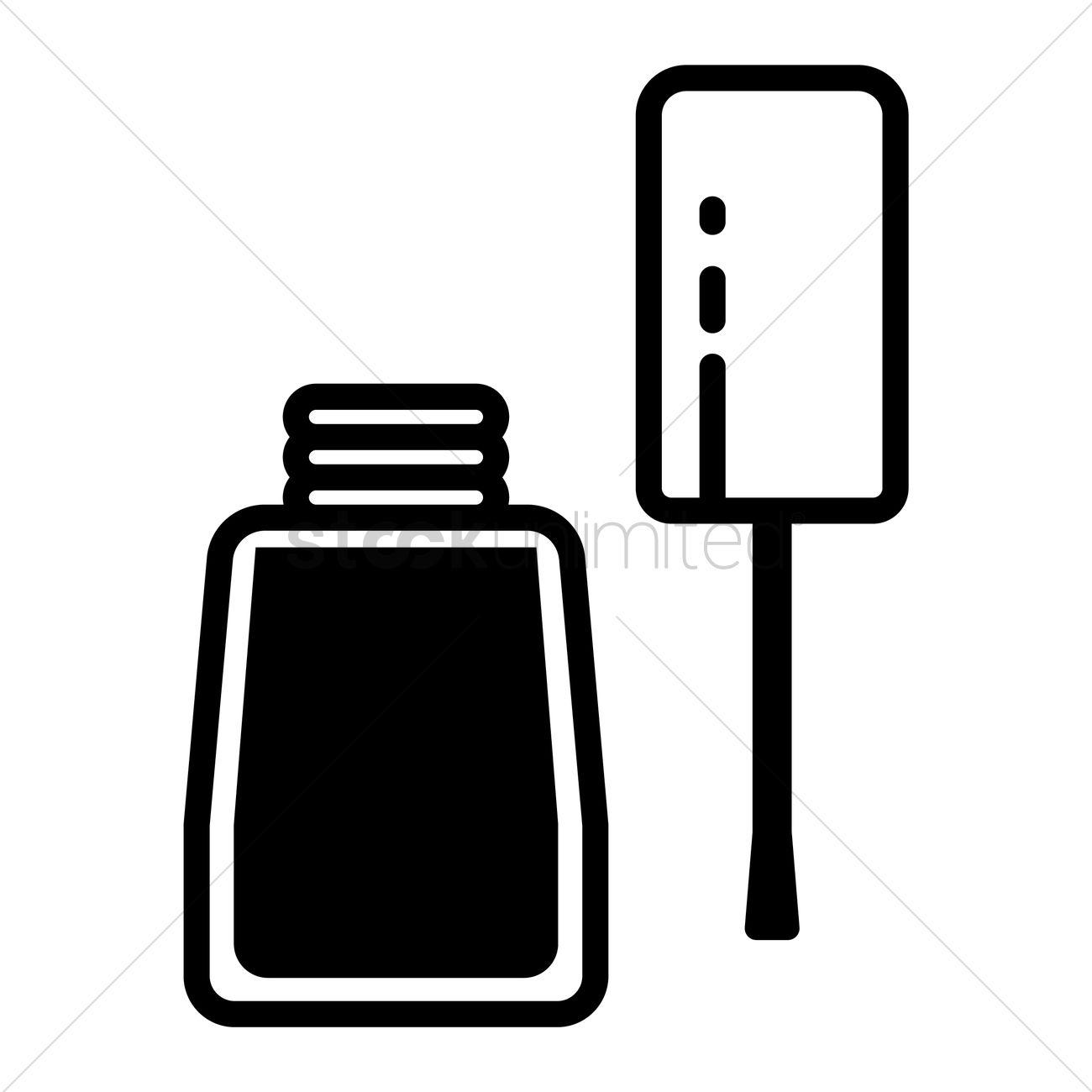 nail salon clipart black and white wwwimgkidcom the