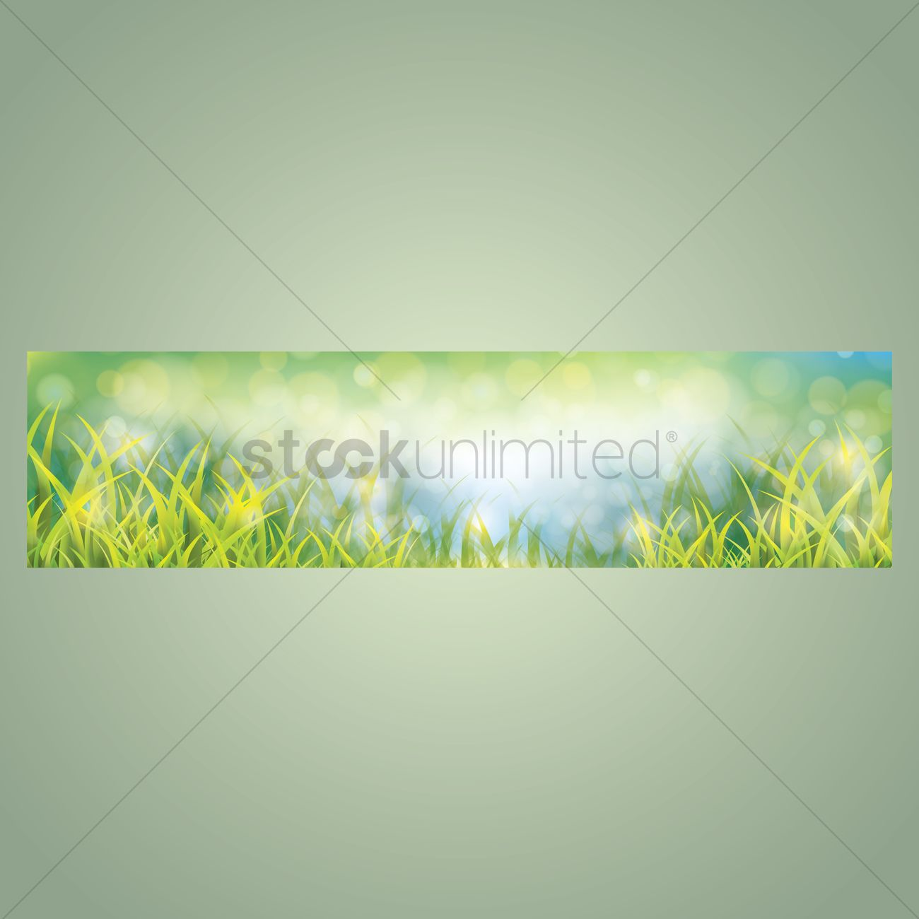 nature banner design vector image 1612320 stockunlimited