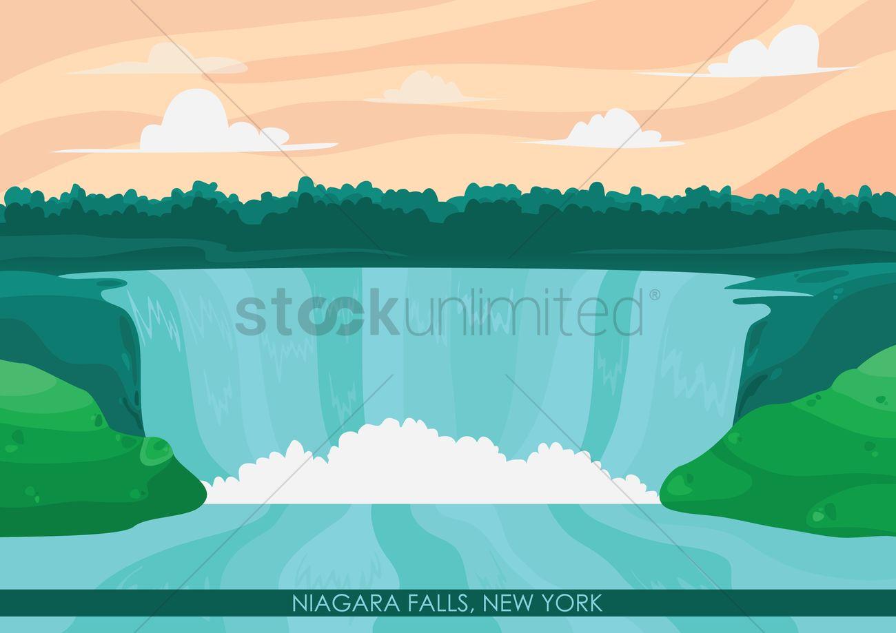 niagara falls wallpaper vector image 1568159 us map clipart usa map clipart vector