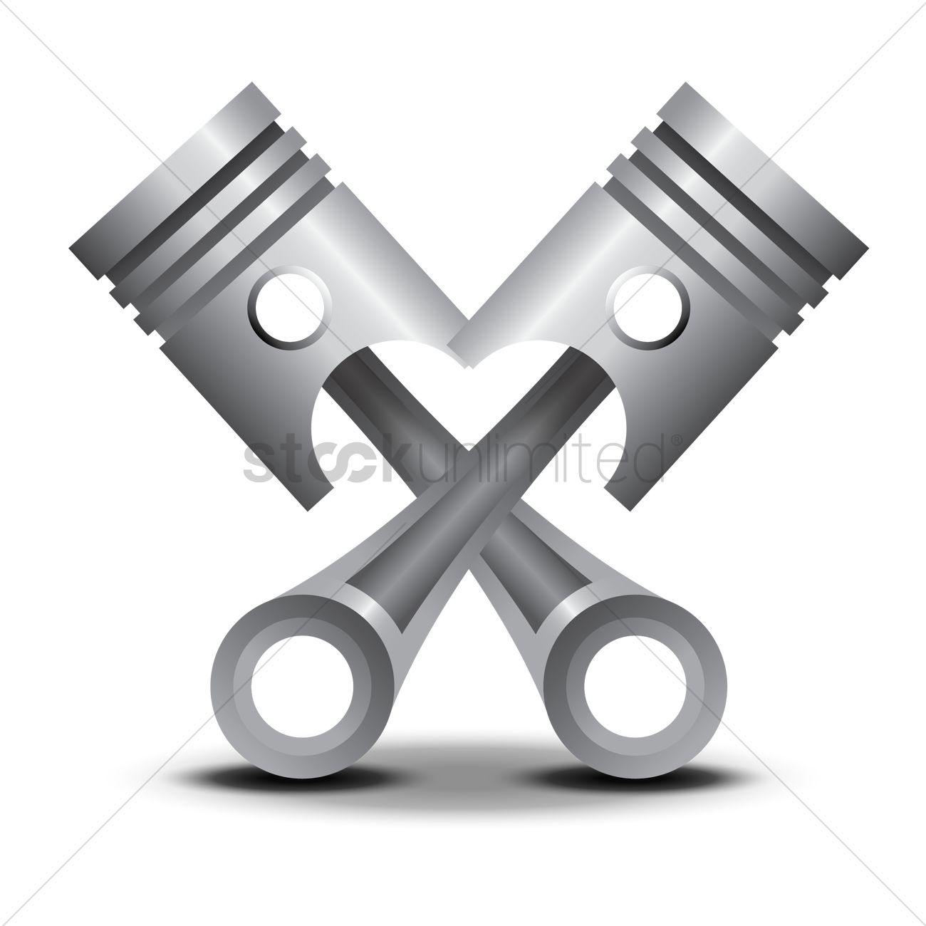 pistons vector image 1432167 stockunlimited