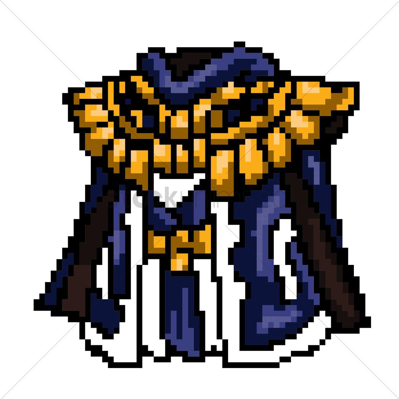 pixel art robe