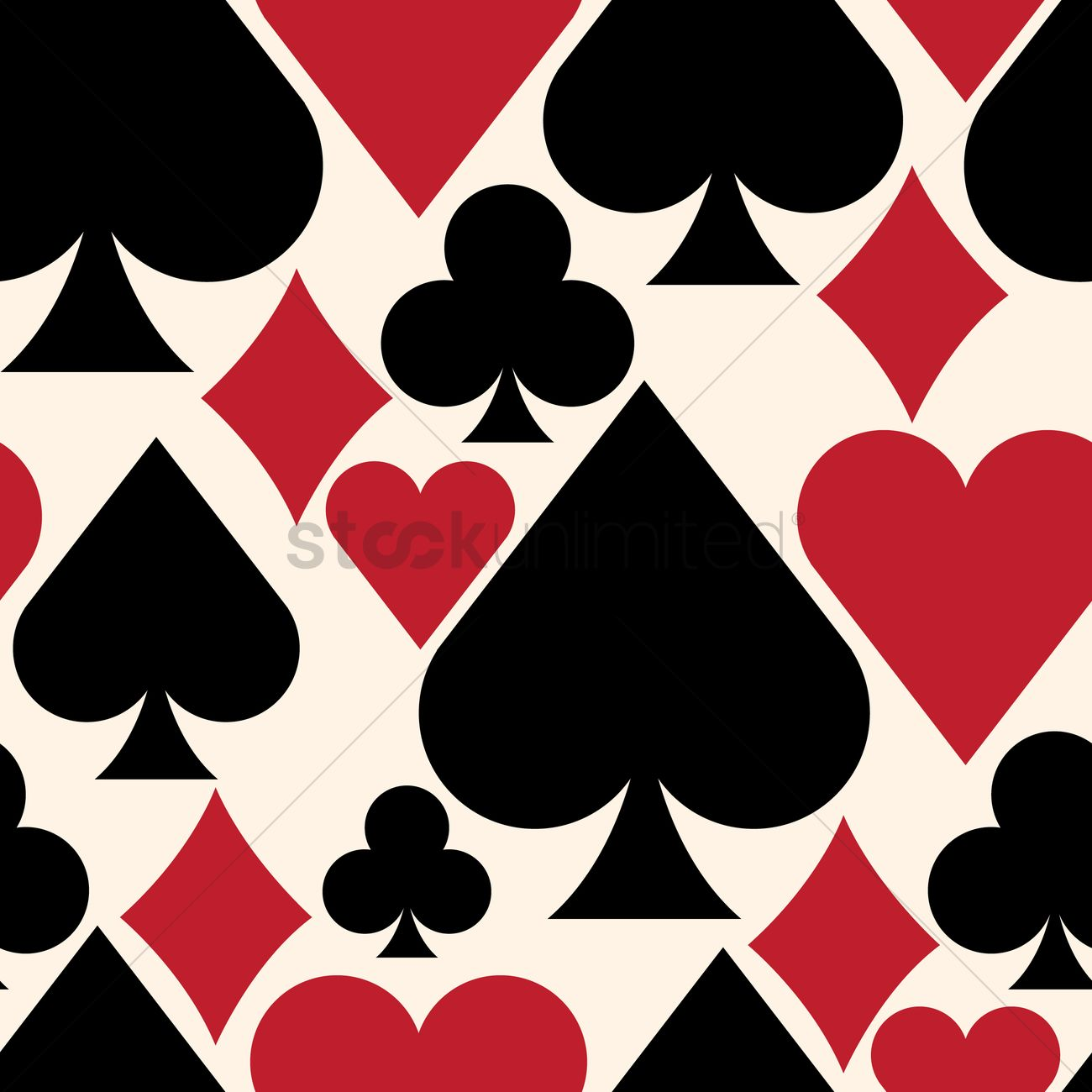 Playing Cards Background Vector Image 1277668