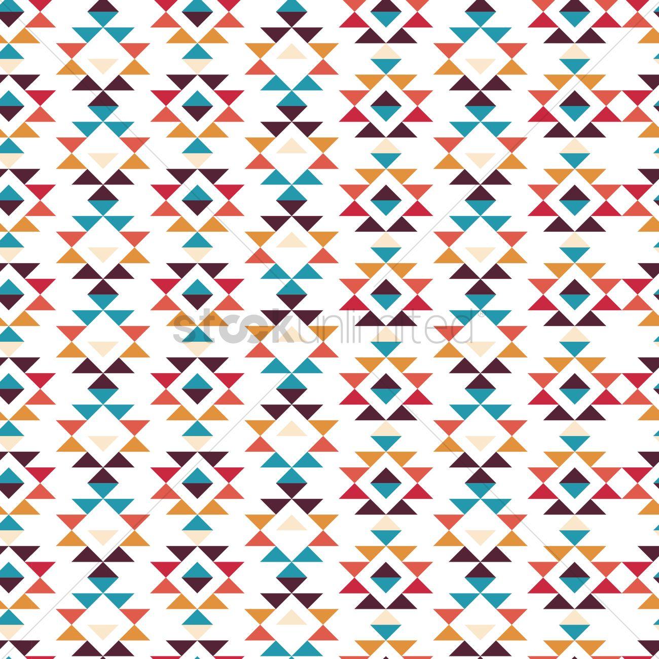 Seamless tribal pattern Vector Image - 1621373 ... - photo#11