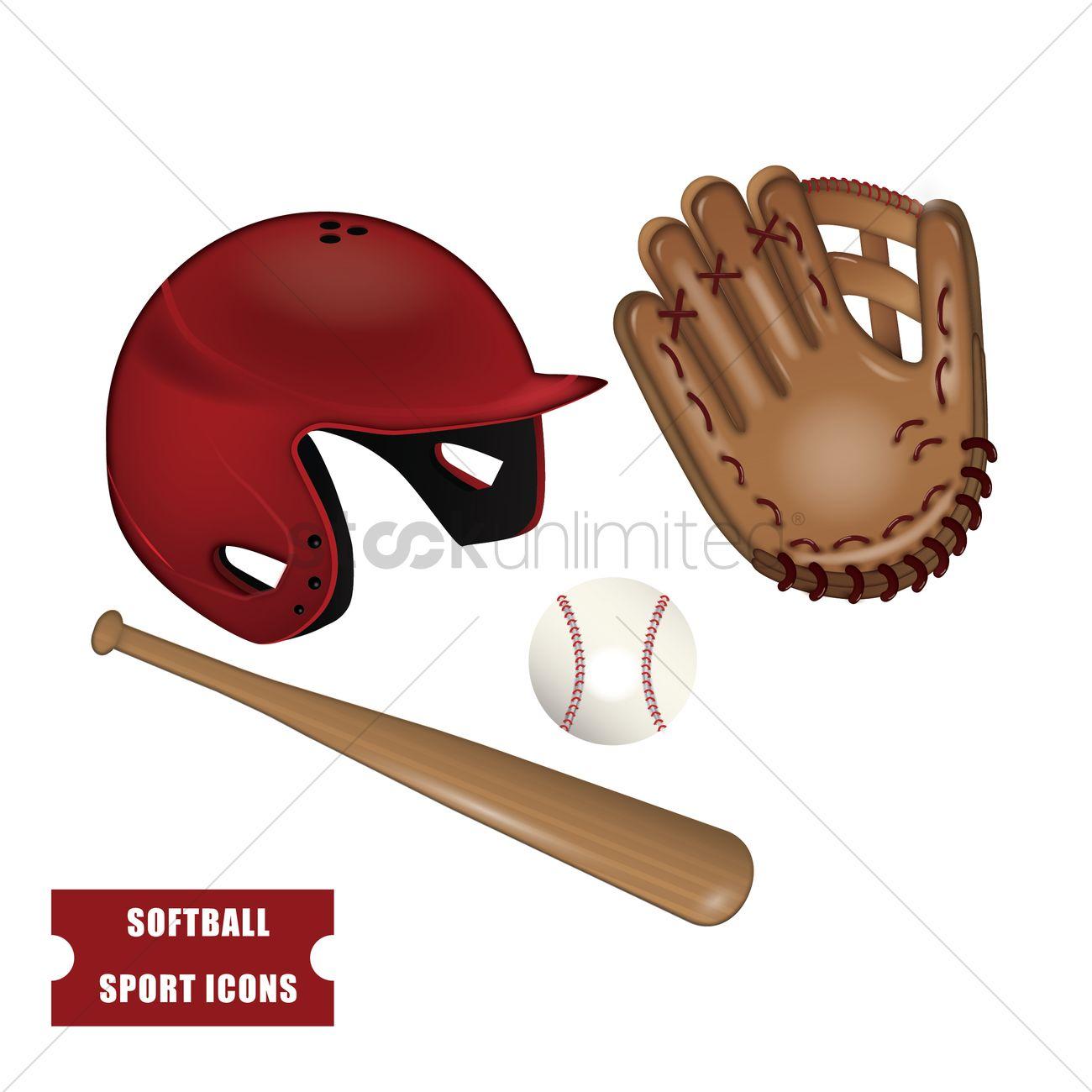 set of baseball equipment vector image 1789122 baseball ball clip art jpeg baseball ball clipart black and white