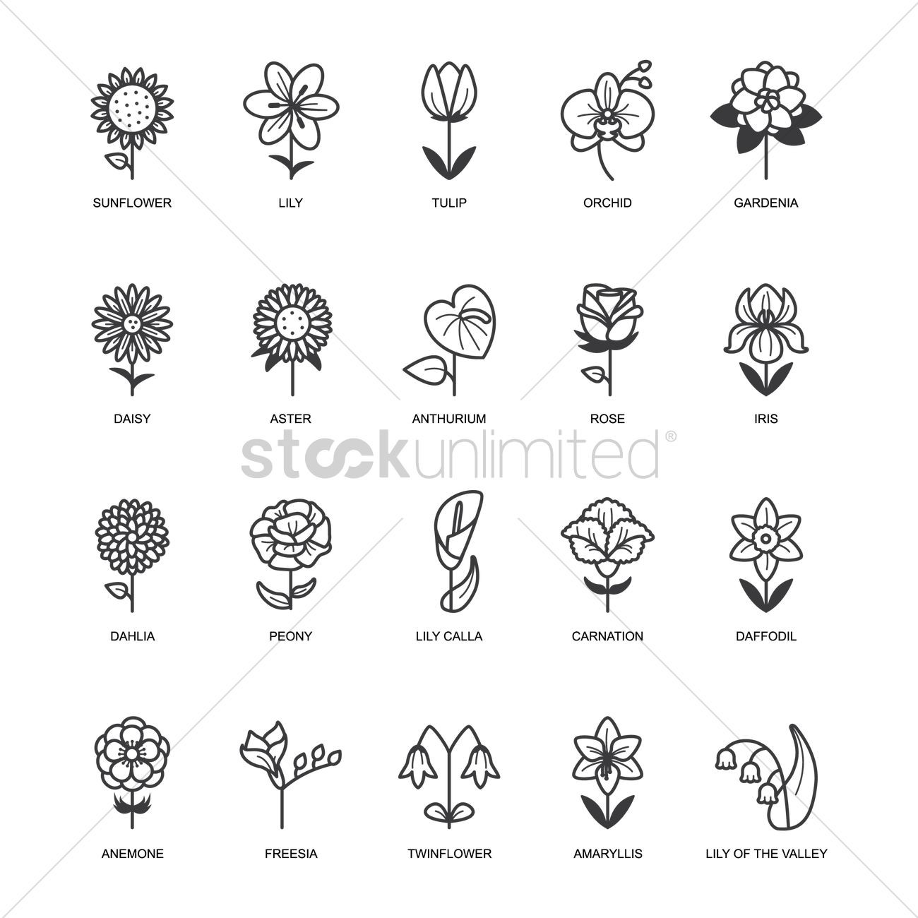 Flower Keyboard Symbol