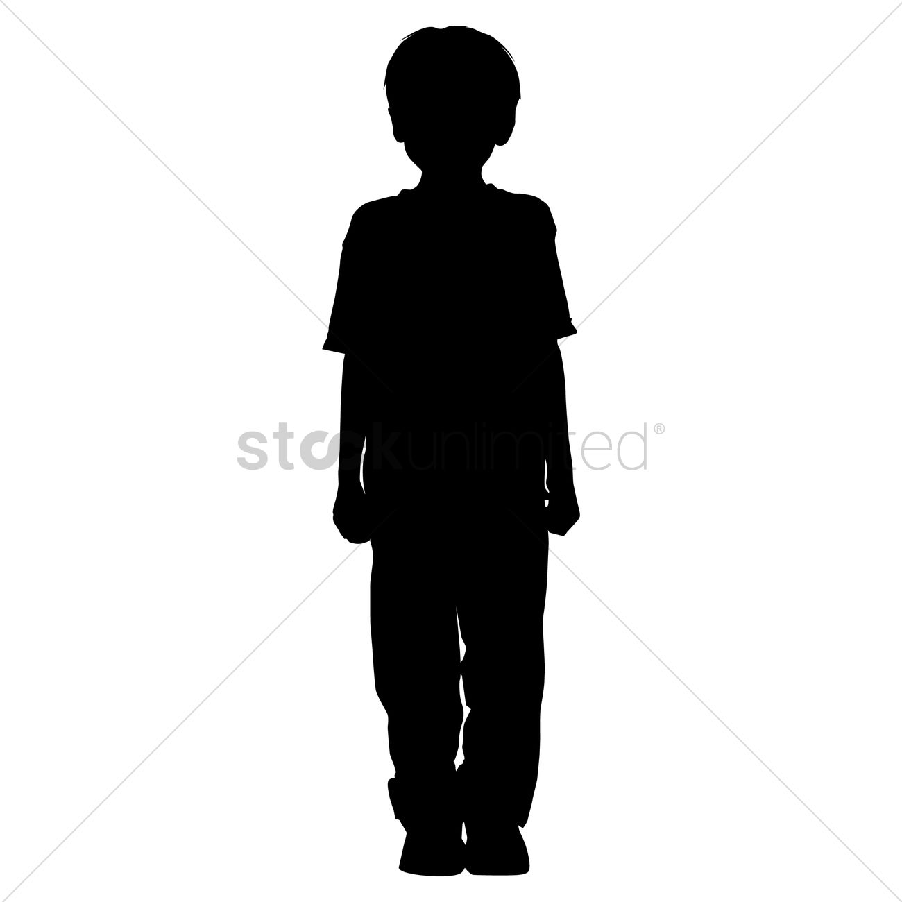 Person Standing Silhouette Vector | www.imgkid.com - The ...