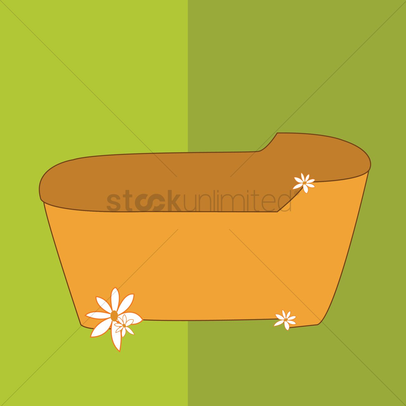 Spa Bath Tub Icon Vector Image - 1364016