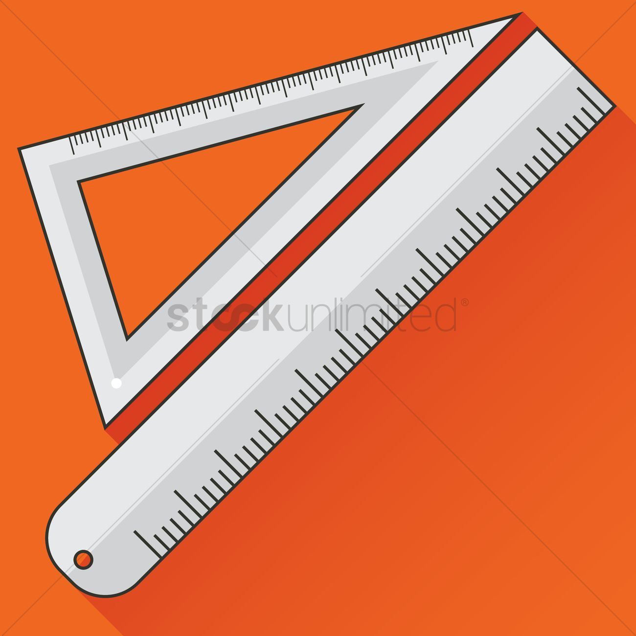 Types of rulers Vector Image - 1277273 | StockUnlimited