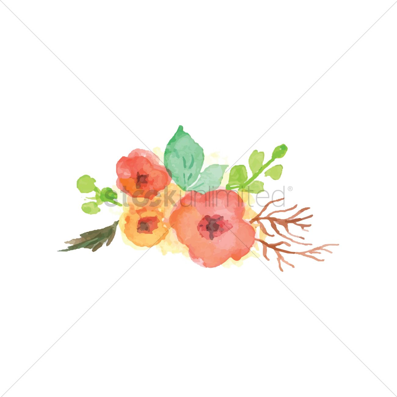 watercolor flower wallpaper