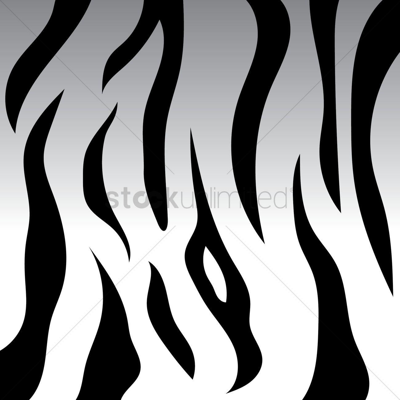 White tiger stripes background vector image 1622414 - Tiger stripes black and white ...