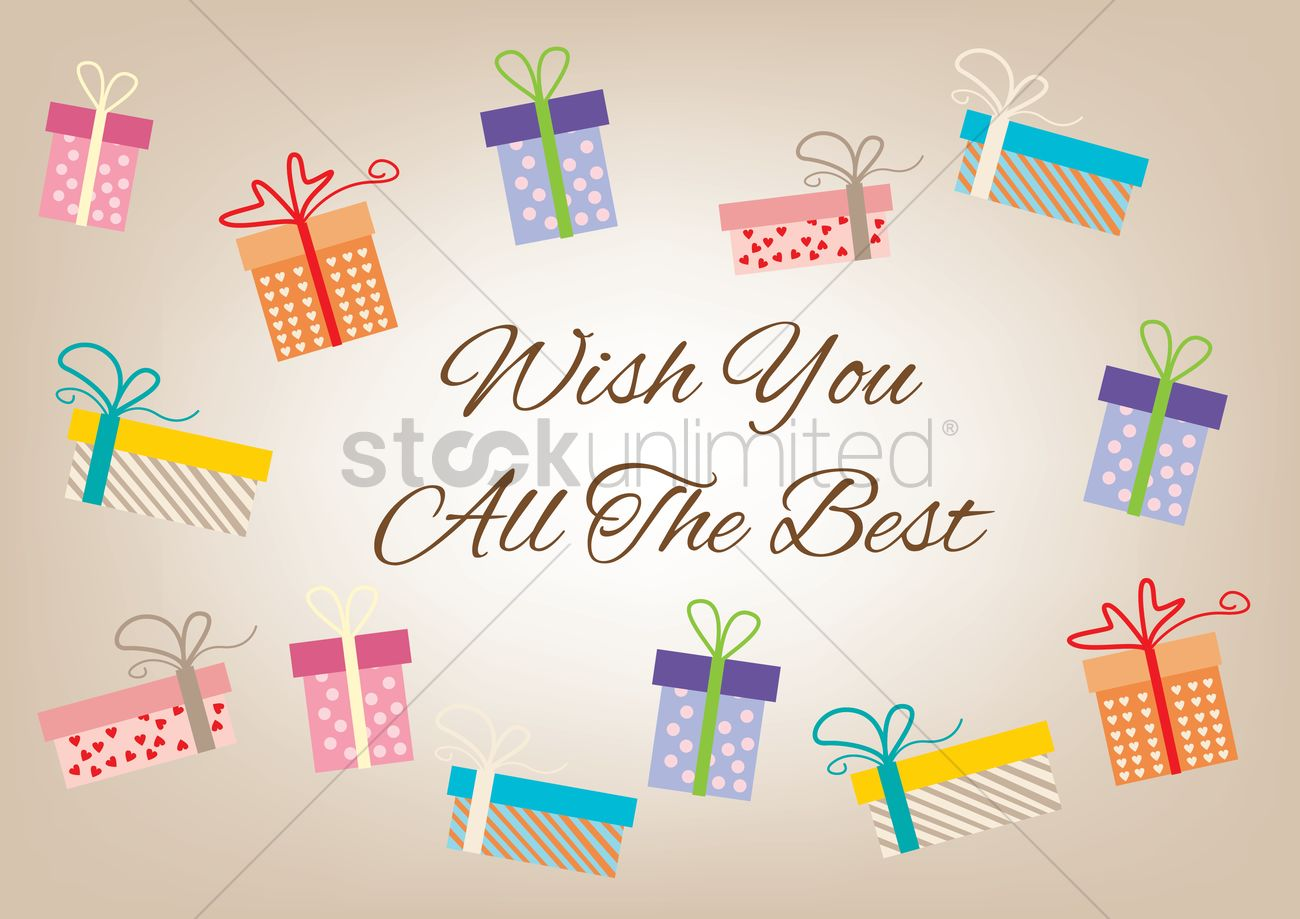 Wishing You the Best Clip Art