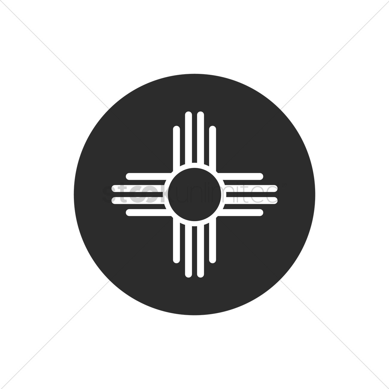 Zia symbol Vector Image - 1617461 | StockUnlimited