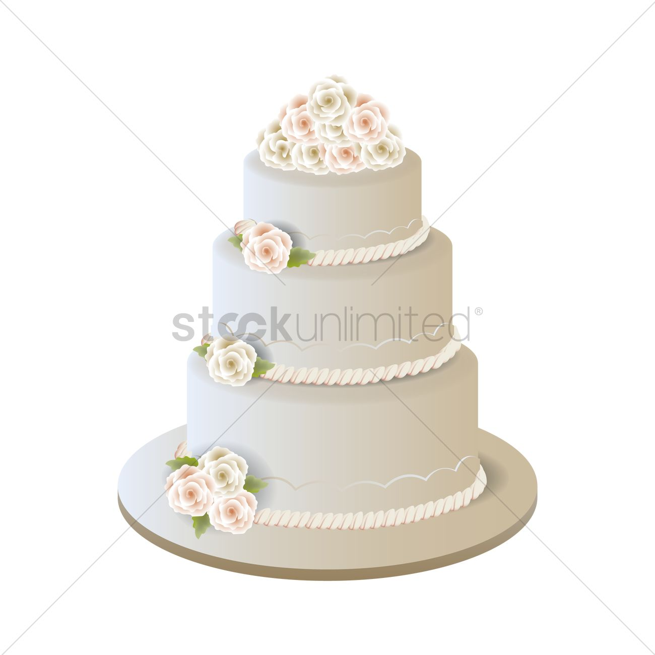 wedding cake vector wedding cake vector image 1875202 stockunlimited 26758